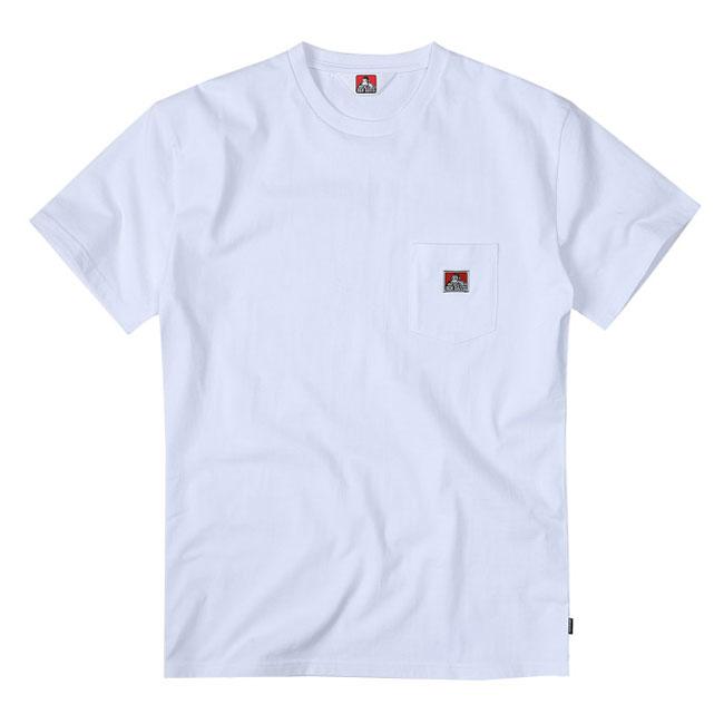 BEN DAVIS - BDZT-0099-02 POCKET TEE 胸前口袋 短T (白色)