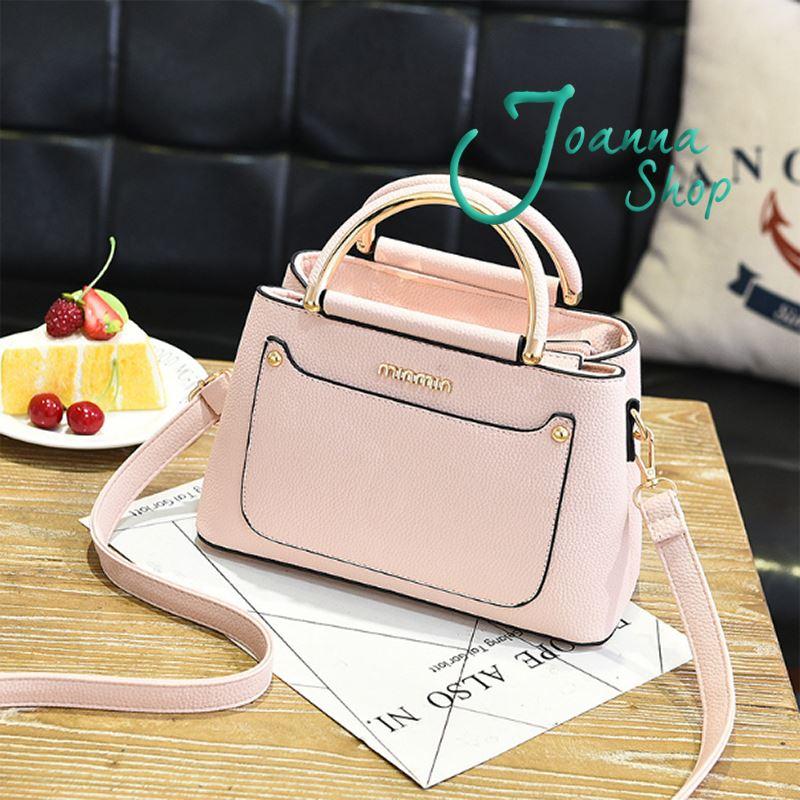 春季新品優雅時尚韓版手提斜肩包2-Joanna Shop
