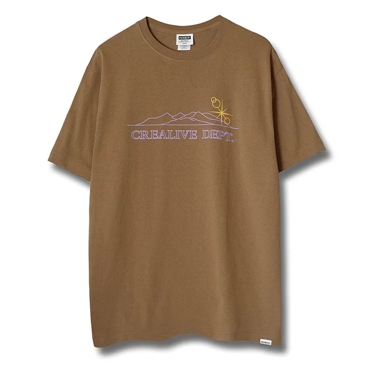 Filter017 - Shiny Mountains Tee 光芒山脈 短T (卡其)