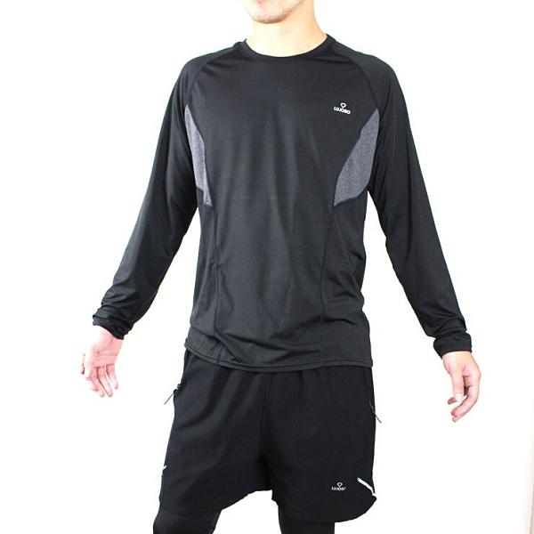【露禾思LUJOSO】男版吸濕排汗運動壓力衣