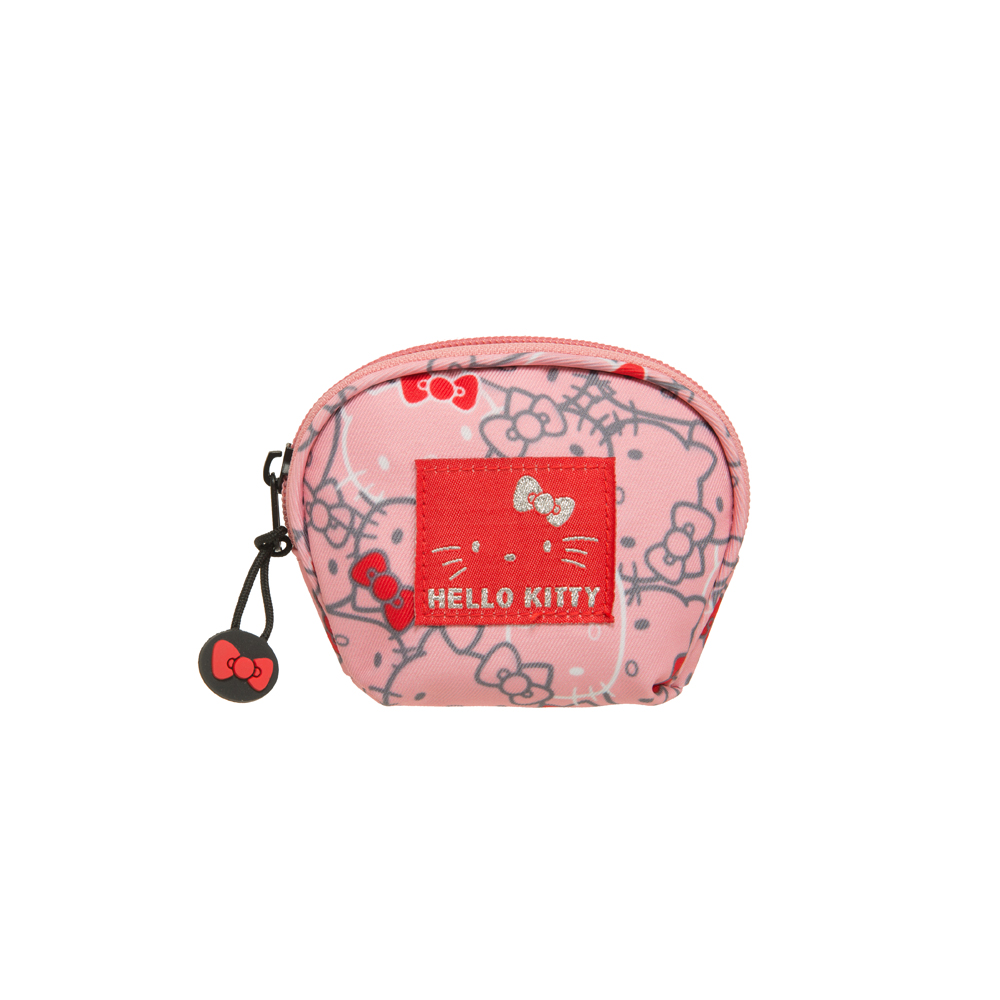【Hello Kitty】繽紛凱蒂-零錢包-粉 KT01V05PK