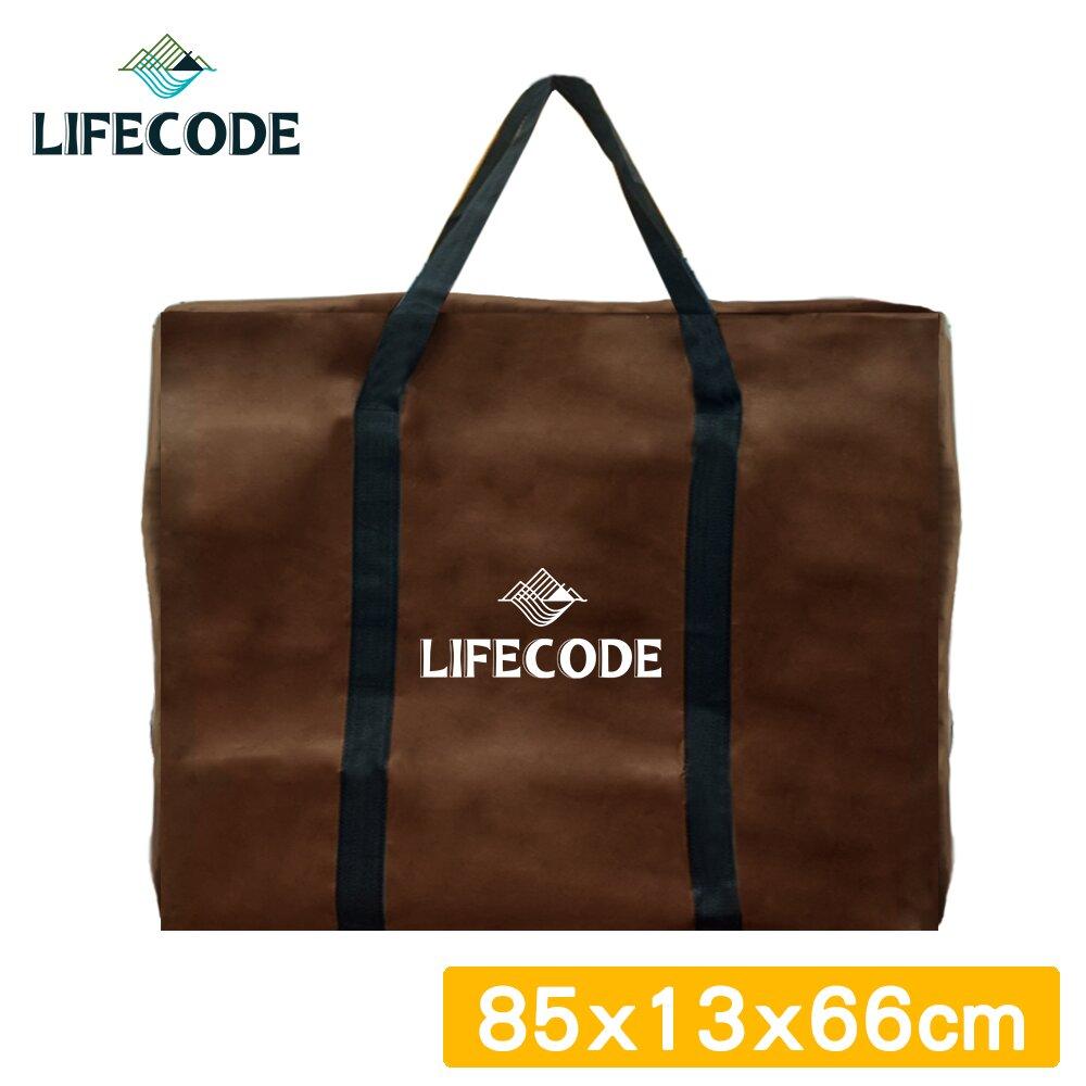 【LIFECODE】折疊桌背袋/裝備袋85x13x高66cm-咖啡色