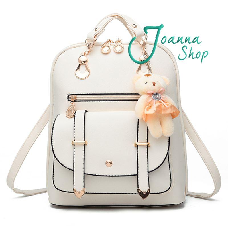 後背包 法式浪漫質感後背包9-Joanna Shop