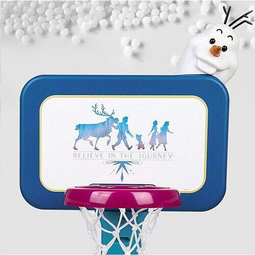 【冰雪奇緣】二合一籃球足球架(多段式高度調整)JTD59217 免運