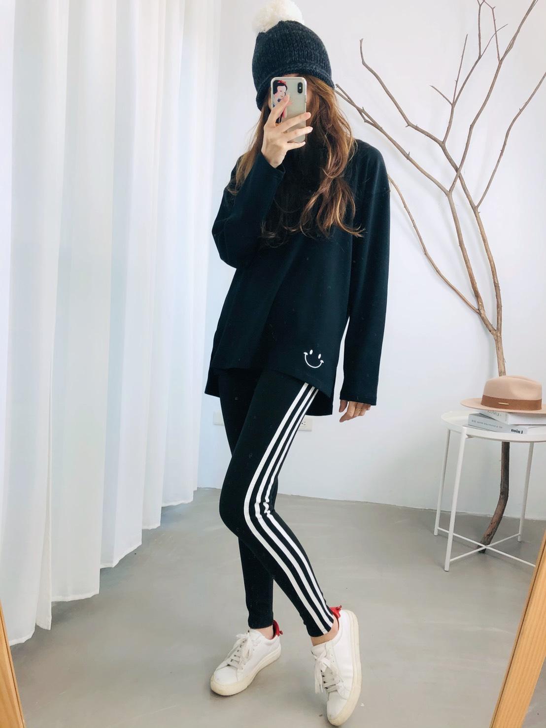 【missy shop】運動風格內搭褲-K26266