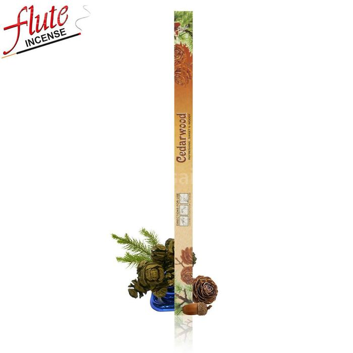 Flute印度線香-【大盒裝】雪松/天神庇祐