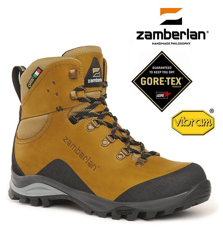 【Zamberlan 義大利】MARIE 防水高筒皮革登山鞋 駝黃色 (0330PW0G)