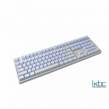【宏華資訊廣場】ikbc - TD108 機械式鍵盤 中文/藍色背光/Cherry軸/PBT鍵帽