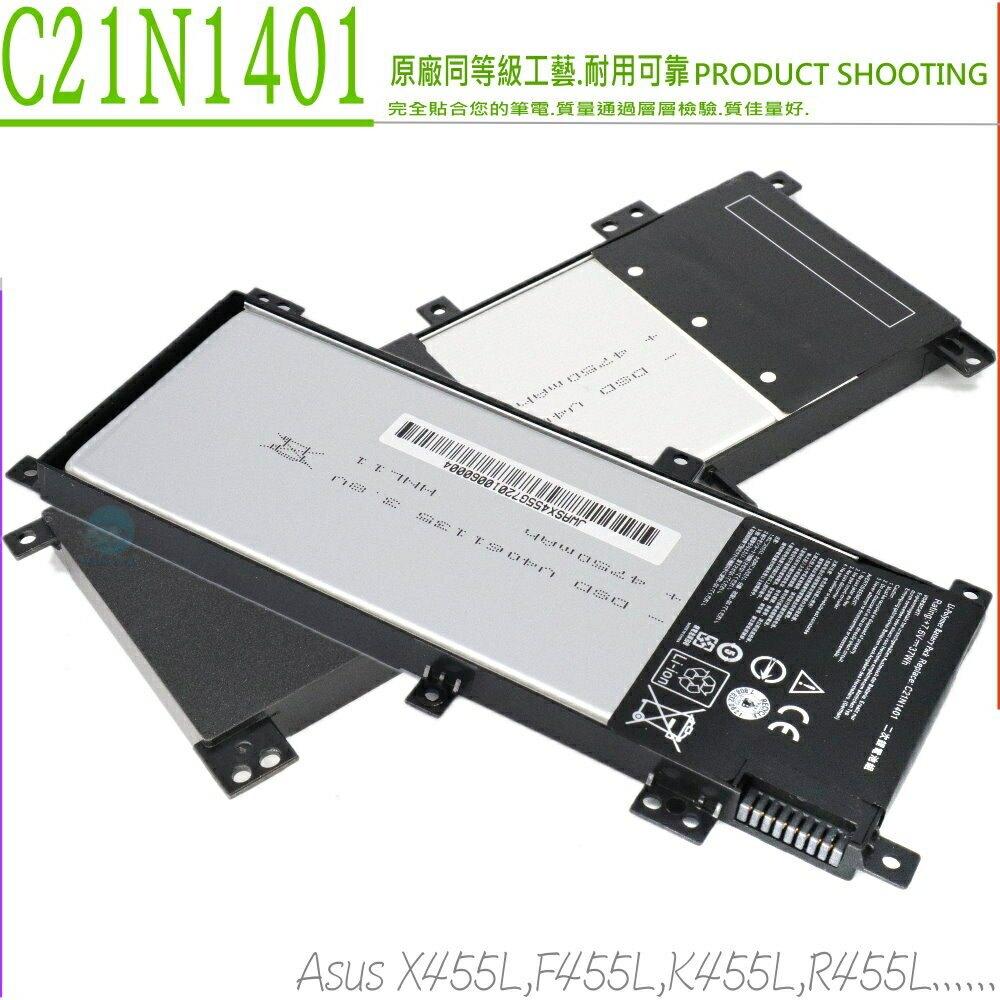 ASUS C21N1401 電池-華碩 X455 X455LA, X455LN,X455LD,R455,R455L,F455,F455L,X455L,K455,K455LD,K455LA,F430YA