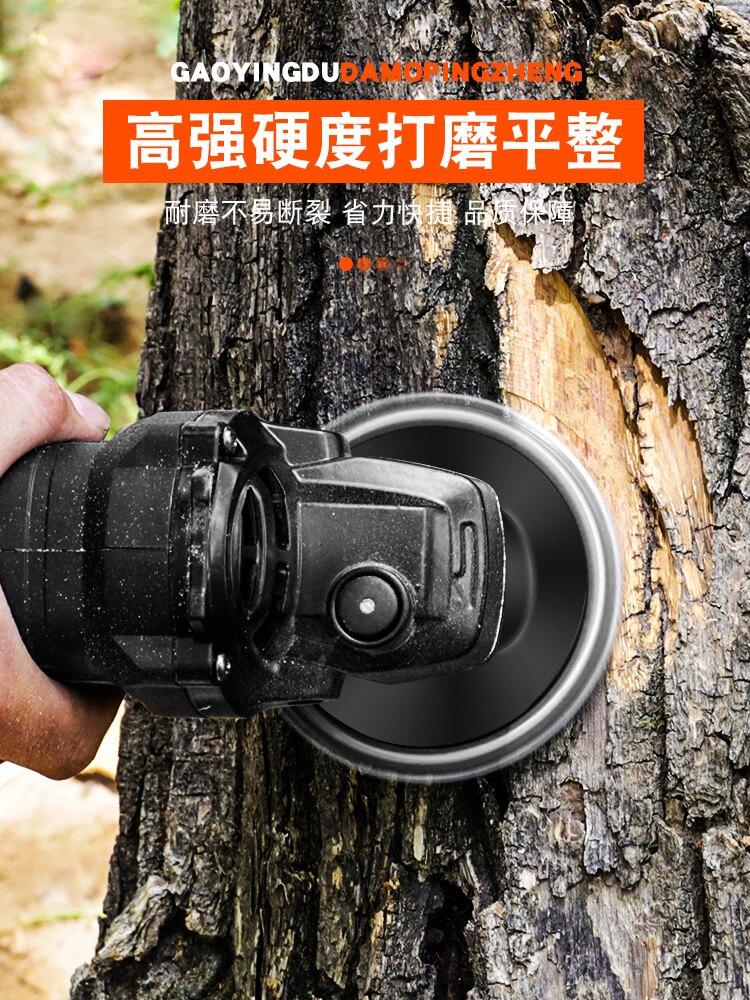 切割鋸片 角磨機鍊條鋸片鋸盤鍊盤4寸木工切割片多功能木頭通用開槽據【MJ8808】