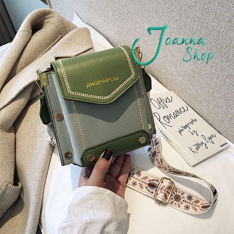 秋冬新款高質感箭頭韓版時尚百搭小ck斜背包2-Joanna Shop