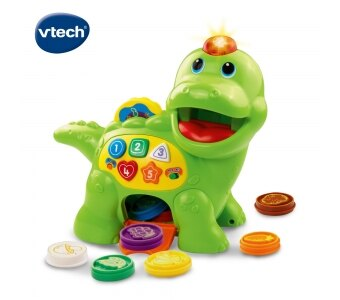 《英國 Vtech》 小恐龍餵食學習組 東喬精品百貨