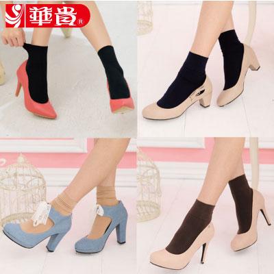 華貴絲襪-時尚寬口短統襪(9086)-6雙入