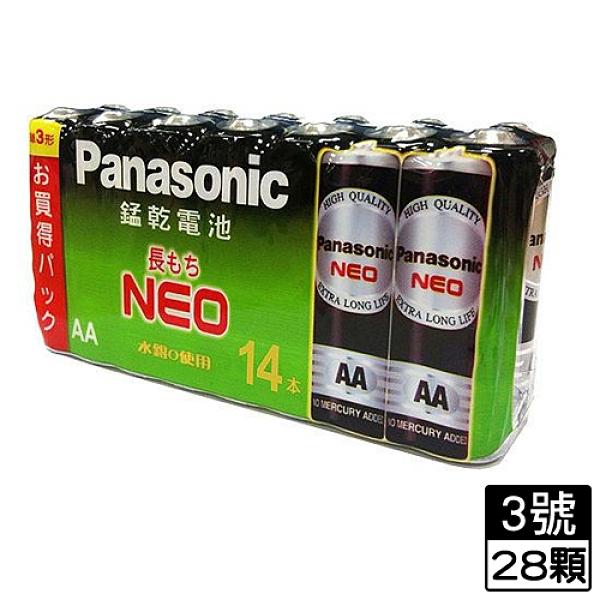 2件超值組國際牌 黑錳乾電池3號 14入/ 組【愛買】