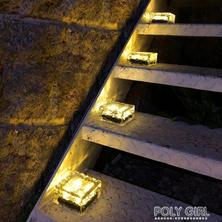 太陽能戶外庭院燈別墅裝飾燈花園草坪露台陽台布置家用防水地埋燈 ATF  閒庭美家