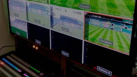 Equipo profesional para hacer streaming en vivo