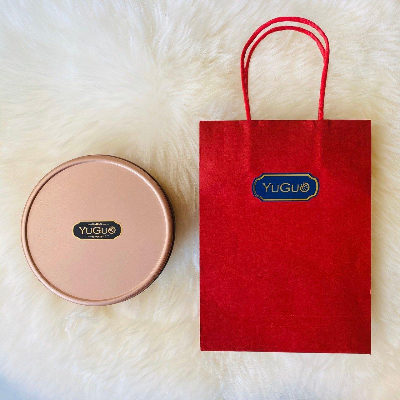 【榆菓點心】滿馨禮盒(五福款) 495g|無奶蛋純素|無麵粉|素食喜餅|母親節禮物