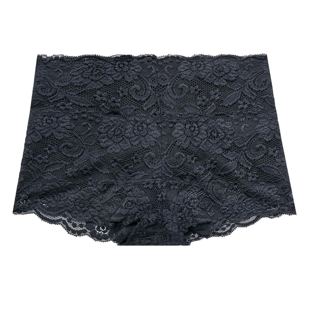 OnStreet 微雕美學蕾絲褲-黑色