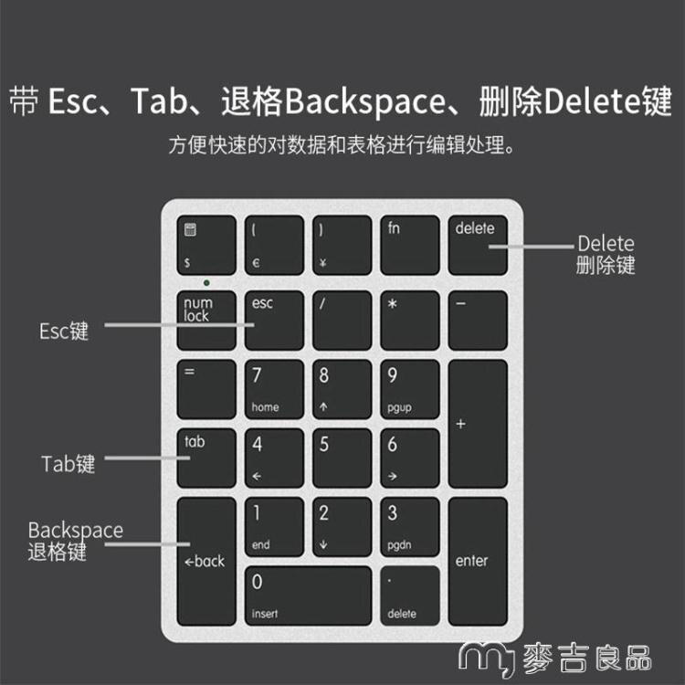 數字鍵盤26鍵筆記本電腦外接數字小鍵盤財務會計專用收銀機外置有線usb