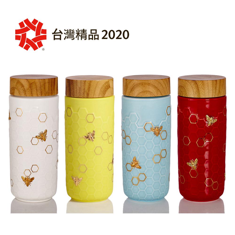 乾唐軒活瓷 | 大豐收隨身杯 / 大 / 特雙 / 仿木紋蓋 / 4色