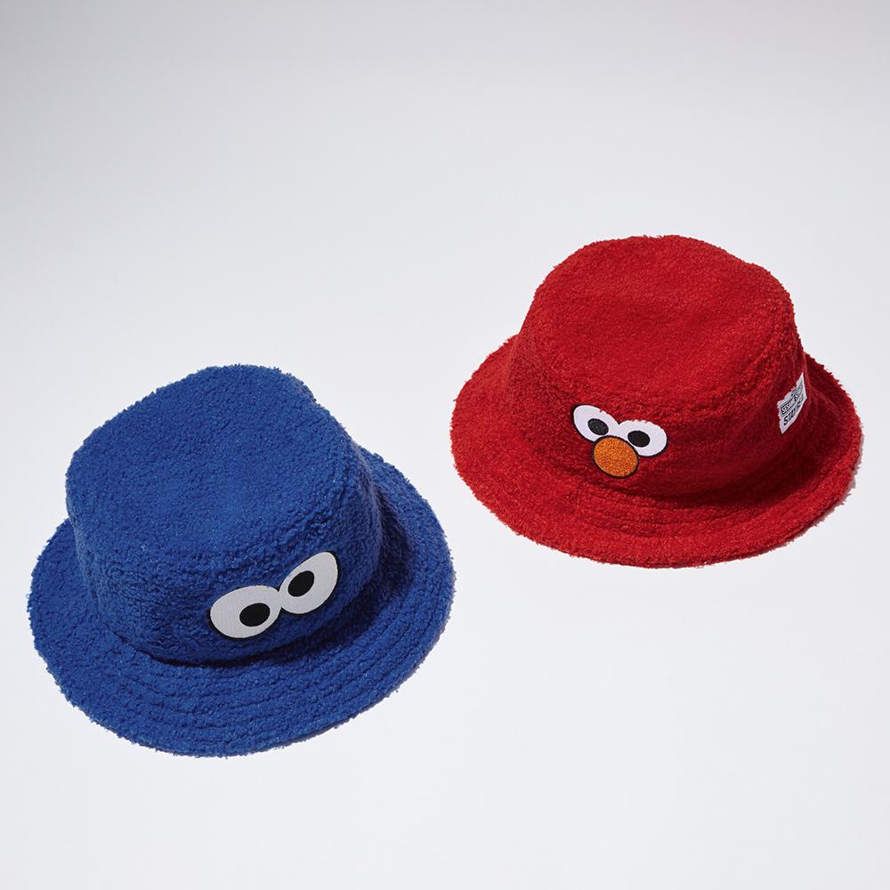 STAYREAL x 芝麻街 系列毛毛漁夫帽