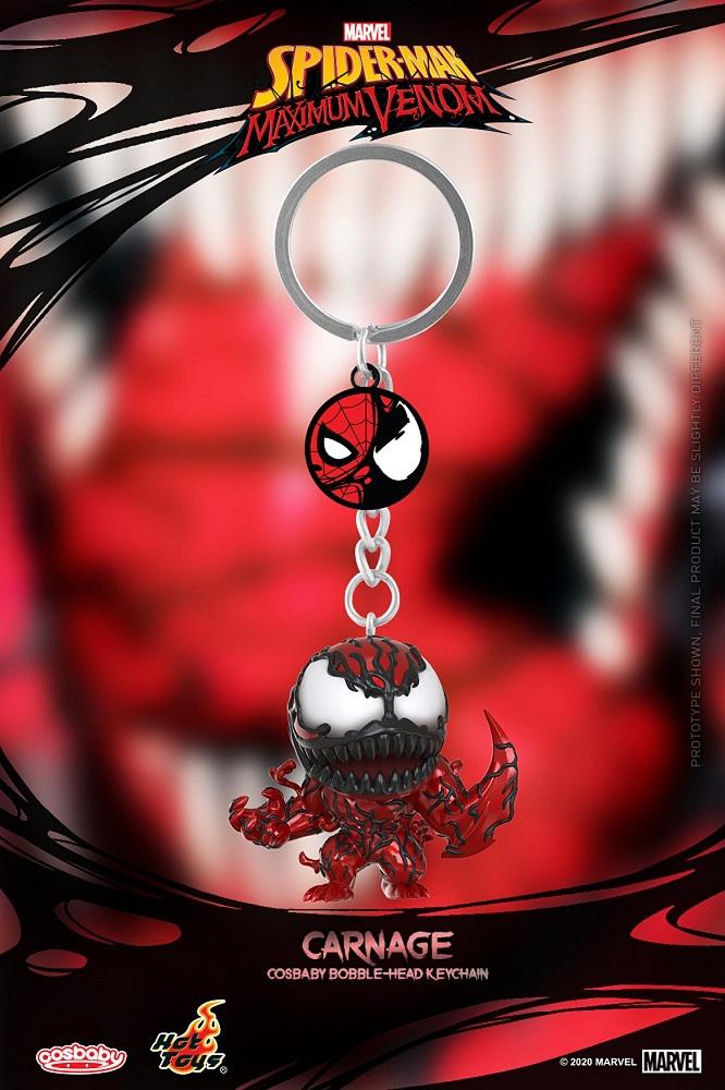 蜘蛛人:極限猛毒 屠殺 COSB鑰匙圈