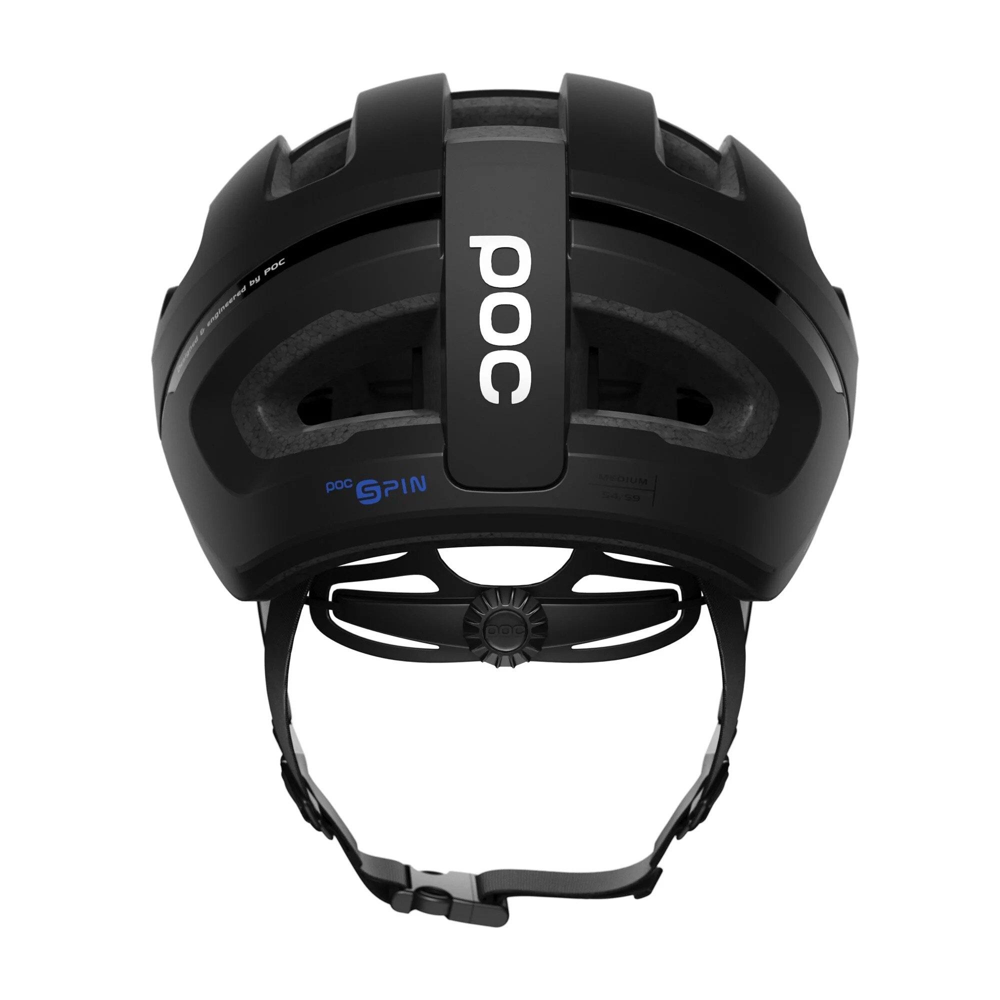 【7號公園自行車】POC Omne Air WF Spin 寬版安全帽(消光黑)(台灣代理商公司貨)