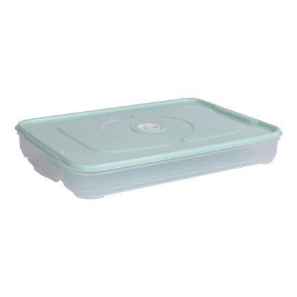 餃子盒家用廚房水餃盒冰箱保鮮盒收納盒塑膠冷凍託盤餛飩盒雞蛋盒『xxs12171』