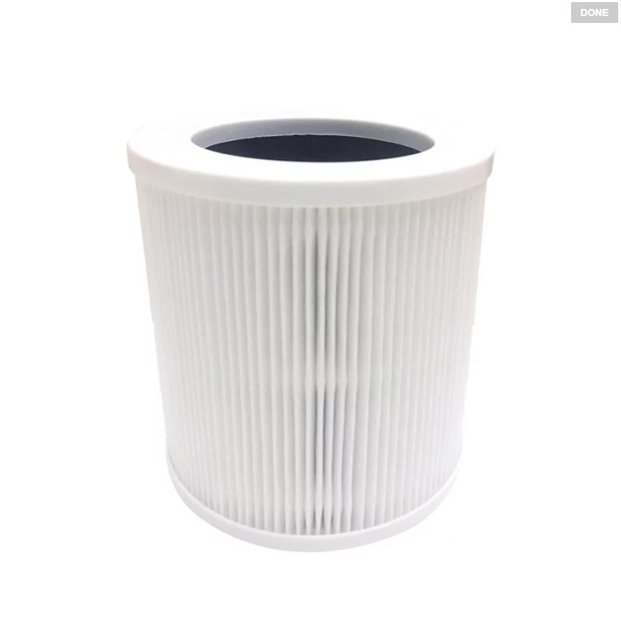 【KINYO】桌上型清淨機HEPA濾心 (適用型號:AO-505、AO-515) 【迪特軍】