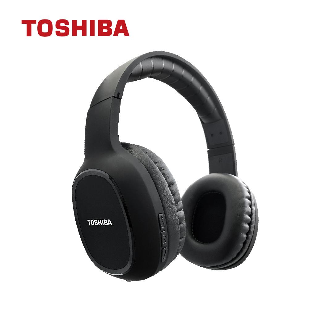 免運 TOSHIBA東芝 頭戴式藍牙耳機 RZE-BT160H(K) 【3入組】
