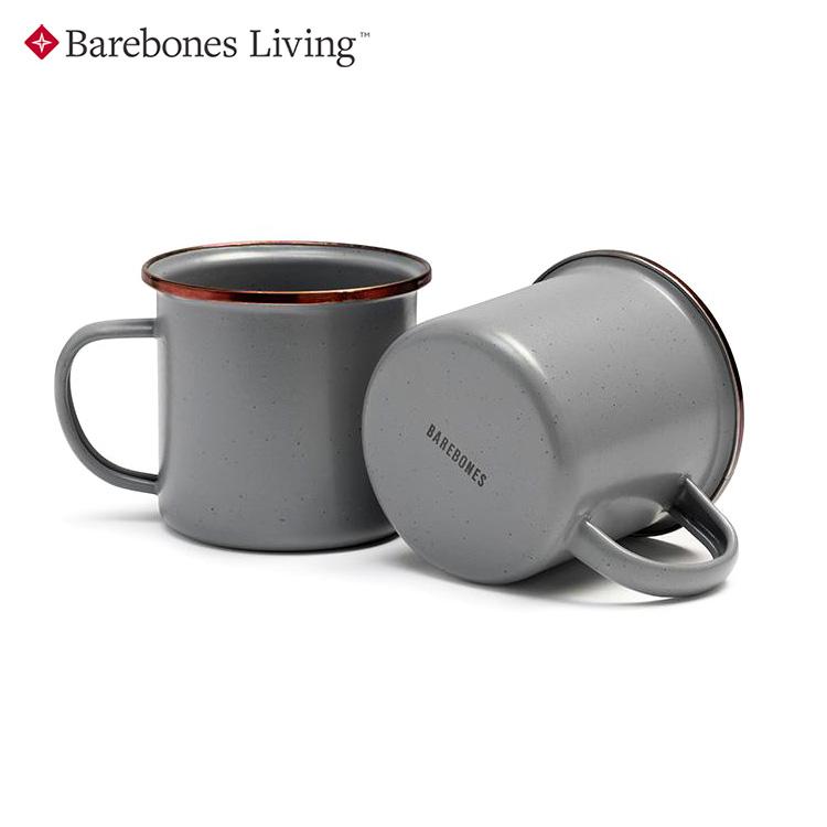 【兩入一組】Barebones 琺瑯陶瓷杯組 CKW-356/ 城市綠洲 (杯子、茶杯、水杯、馬克杯)