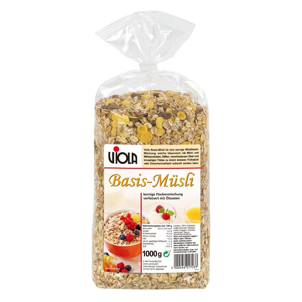 Viola 麥維樂原味穀片 Basic Muesli 1000g