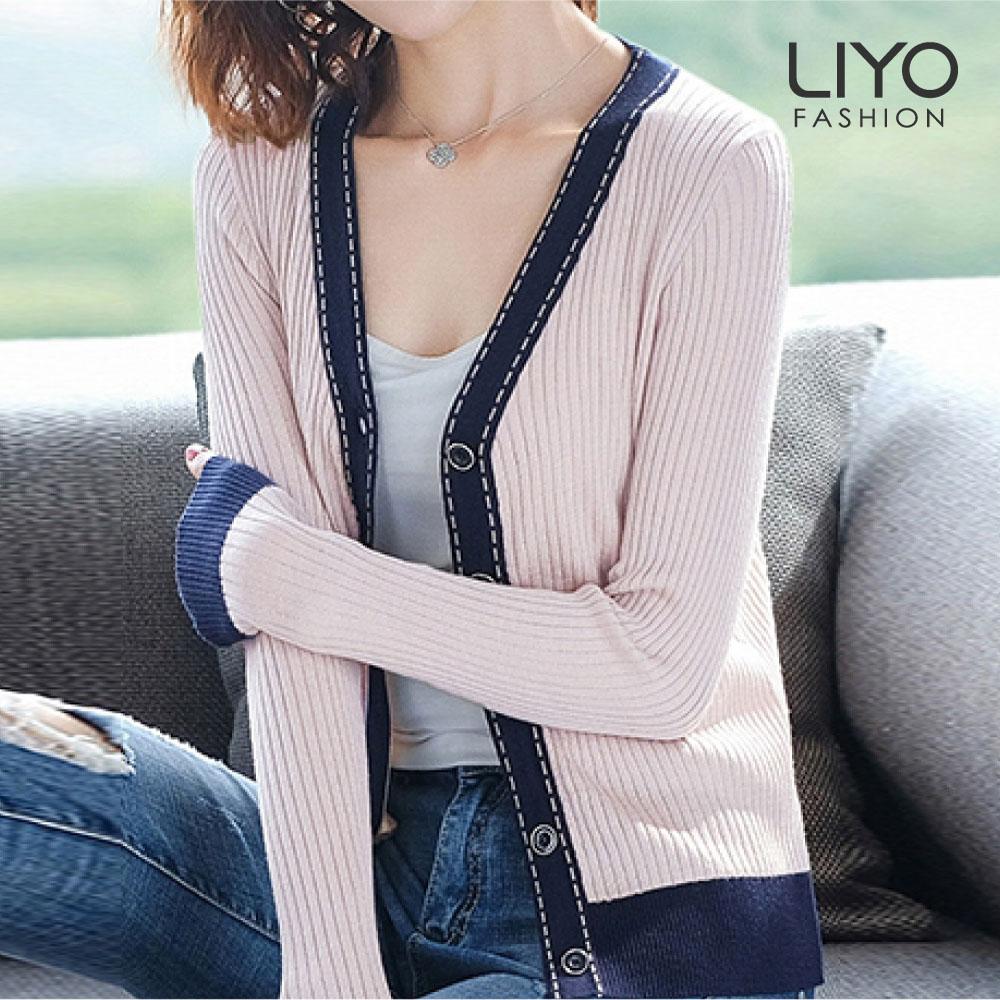 針織-LIYO理優-羊毛針織外套-E037006