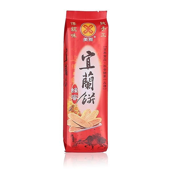 【南紡購物中心】【美雅宜蘭餅】宜蘭餅-蜂蜜x15包