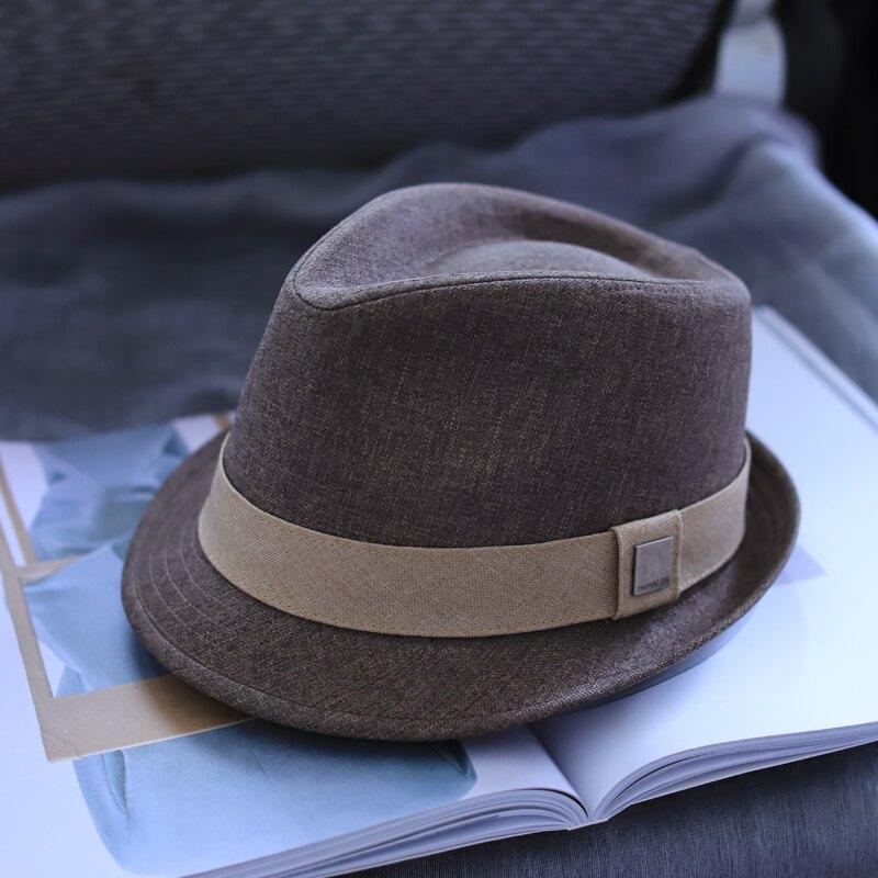 男士禮帽 爵士帽 高檔男士羊禮帽英倫紳士帽秋冬休閒爵士帽中老年帽子