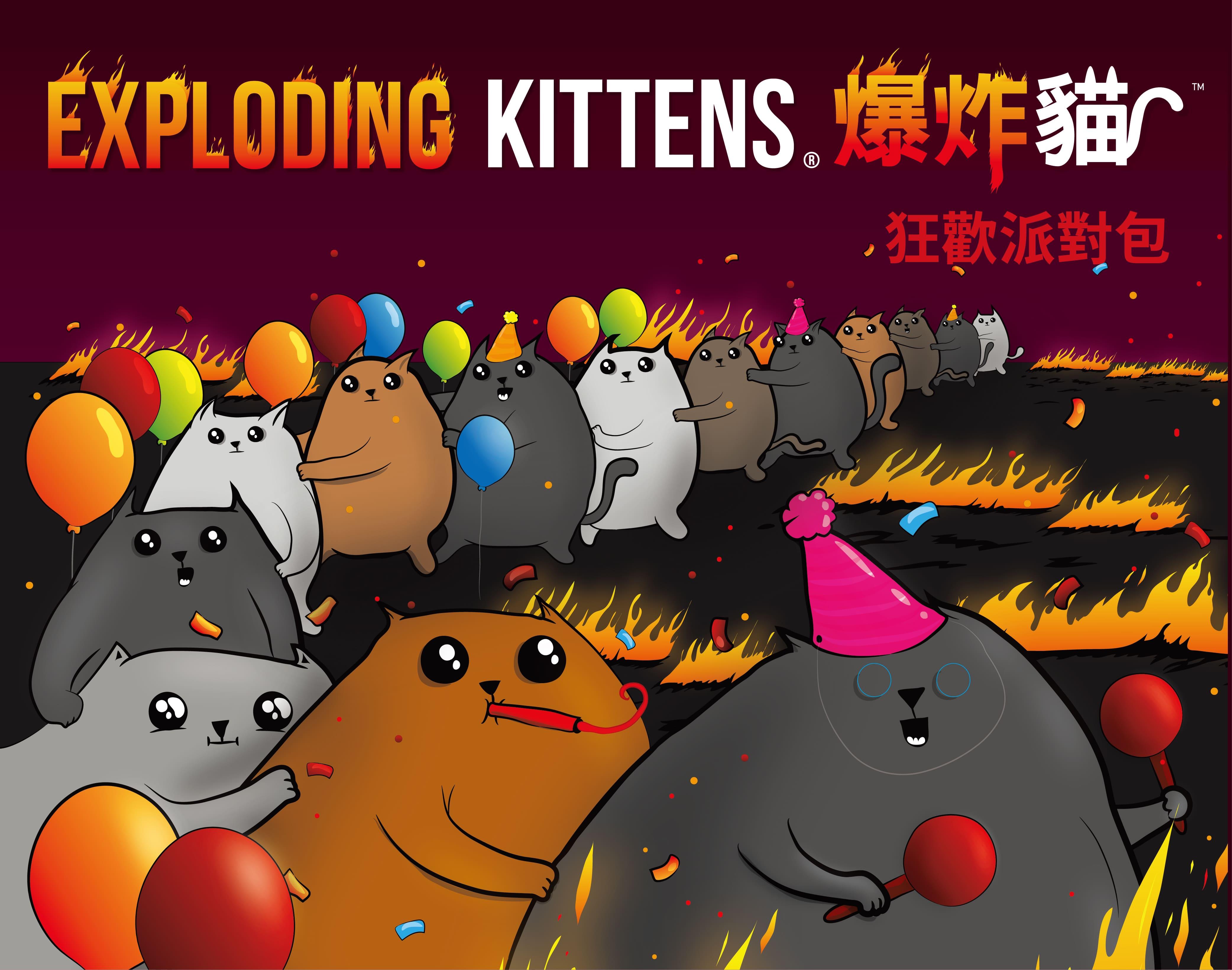 《GoKids 玩樂小子》桌遊 爆炸貓擴充: 黑洞貓 Imploding Kittens 中文版  東喬精品百貨