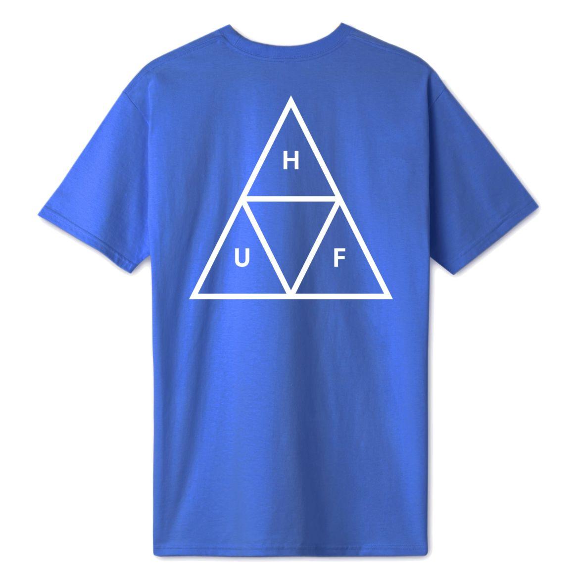 【HUF】Essentials TT Logo S/S Tee 短T (藍色)