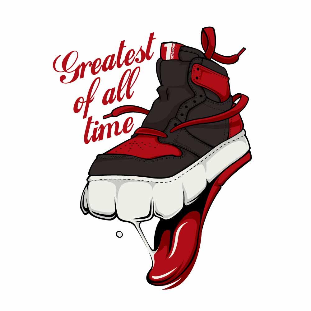 G.O.A.T  STICKER ( 球鞋貼紙 )