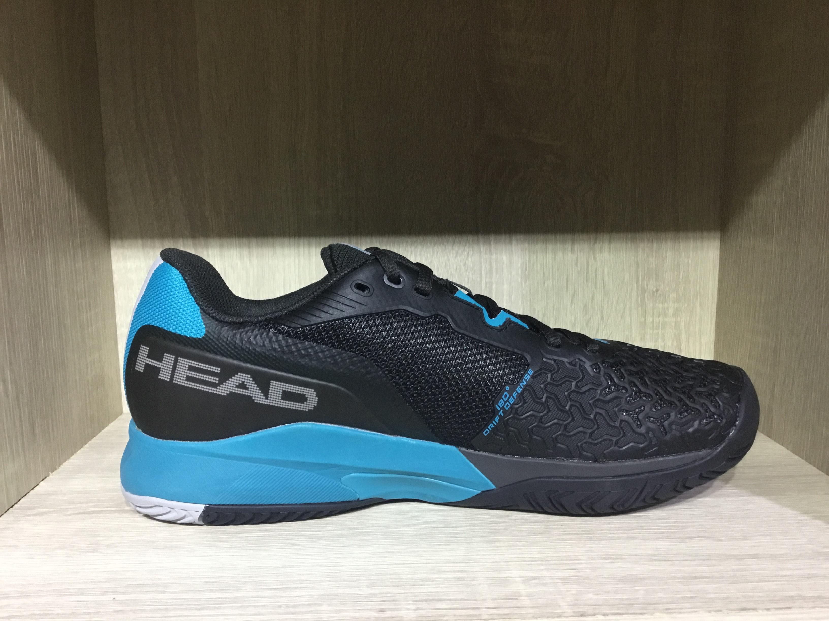 2021 Head Revolt Pro 3.5(黑/藍)專業男網球鞋
