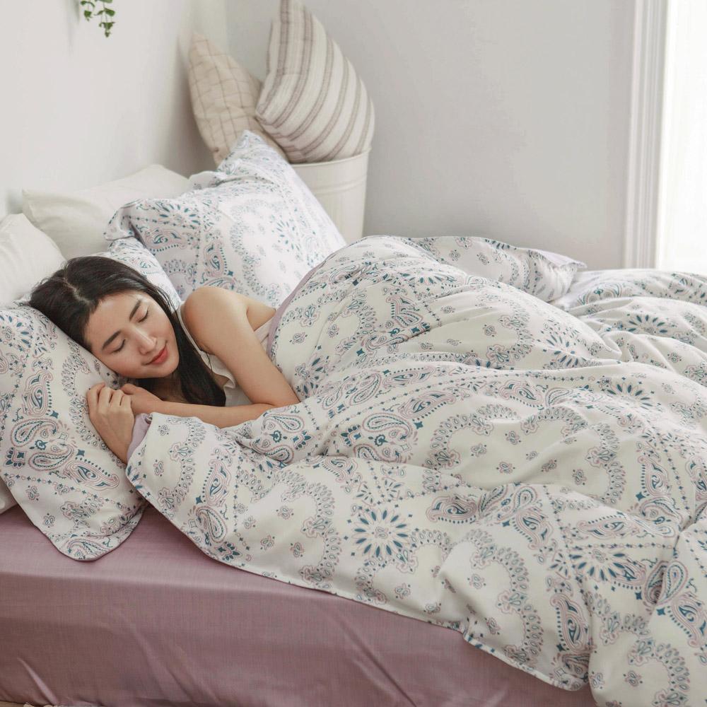 床包被套組(薄被套)-雙人 / 100% TENCEL天絲™萊賽爾纖維 /Ballo