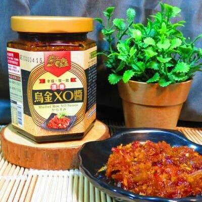 菊之鱻頂級烏金XO醬 XO醬 XO 頂級 澎湖XO醬