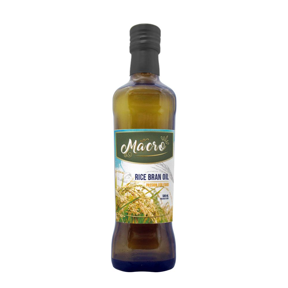 MACRO 100%玄米油 MACRO 100% Rice Bran Oil 500ml