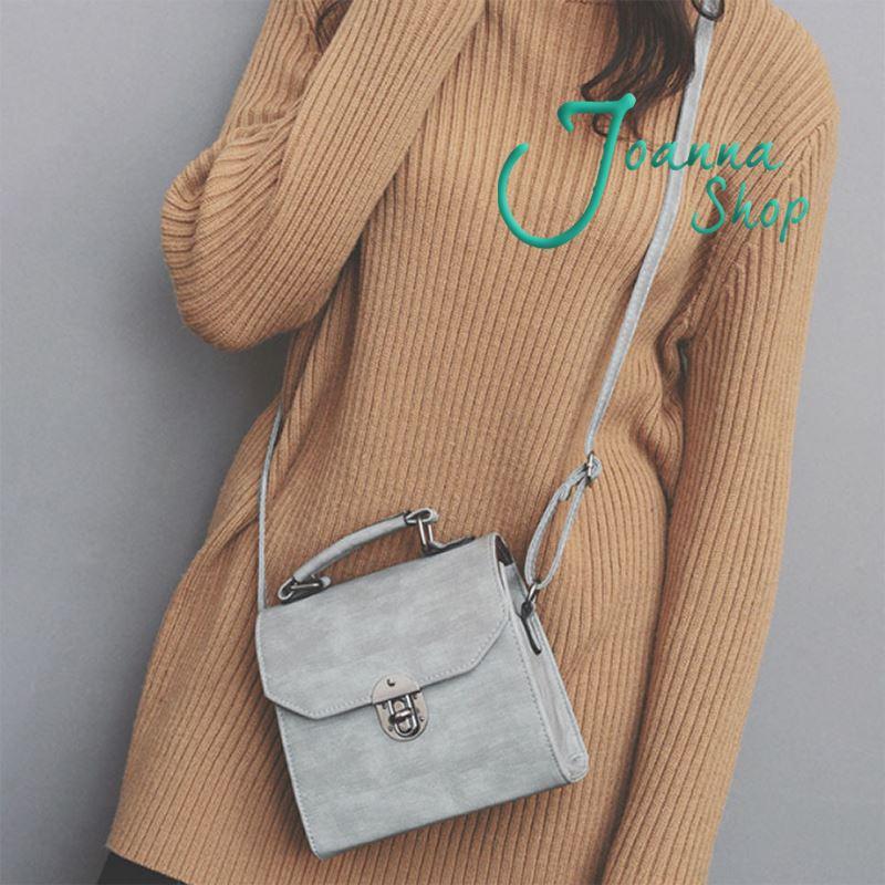 美美新款時尚復古手提斜背包2-Joanna Shop