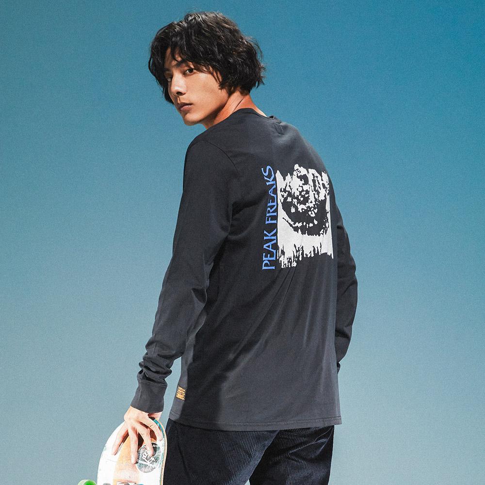 Levis 男款 長袖T恤 / 滑板系列 / 街頭塗鴉-熱銷單品