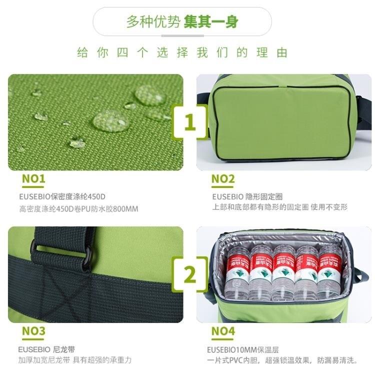 保溫包送餐包外賣保溫箱冷藏戶外冰包保溫袋背奶包便當包 走心小賣場
