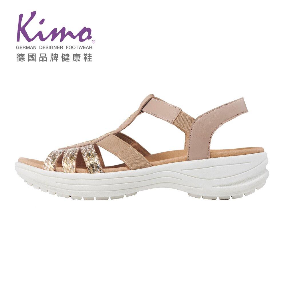Kimo 波西米亞民族風涼鞋 女鞋(淺棕 KBJSF150035)