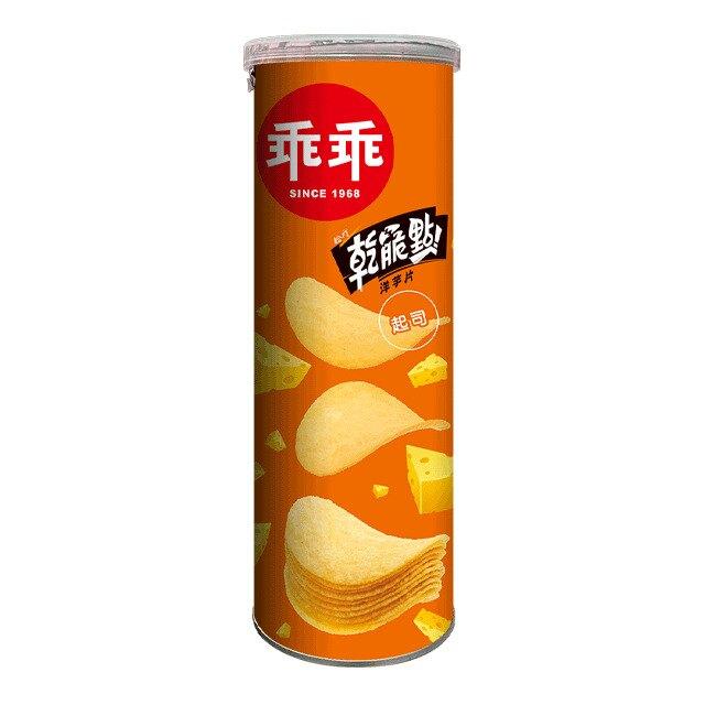 乖乖乾脆點洋芋片-起司110g 【康鄰超市】