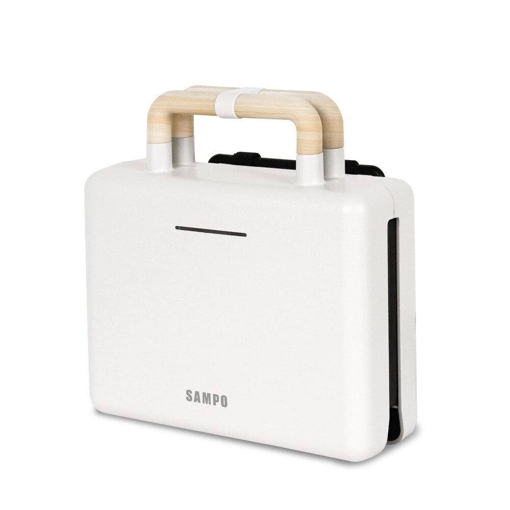 淘禮網 TQ-B1981L 【SAMPO 聲寶】可換片點心機/熱壓土司機/三明治機/鬆餅機