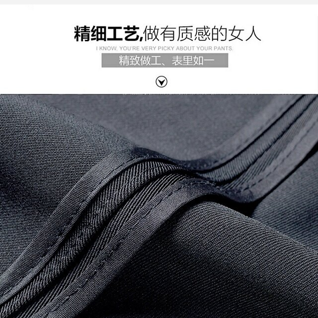 西裝褲 西裝褲夏黑色直筒褲上班職業顯瘦正裝工作褲工裝高腰薄款西褲女【顧家家】