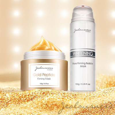 Gold Peptide Firming Mask 150g+Whitening Pore Firming Bubble Mask 150g